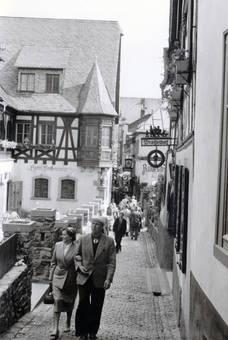 Gasse in Rüdesheim