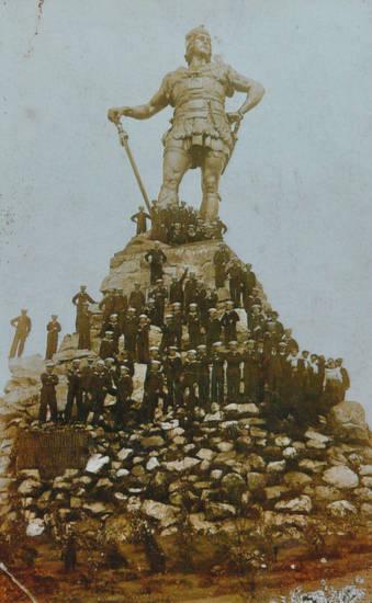 1.Weltkrieg, Erster Weltkrieg, Fridtjovstatue, Kaiserliche Marine, Marine, Matrose, Norwegen, statue