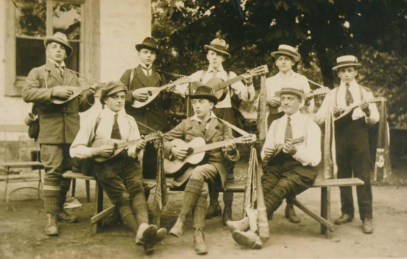 hut, Mandoline, musik, musiker, musikinstrument