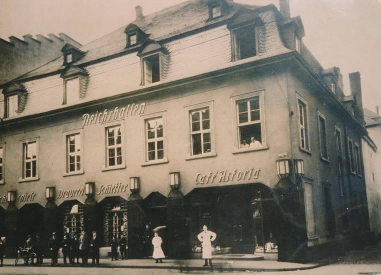 Brauerei, cafe, lichtspiele, Reichshallen, Rheinland-Pfalz, Trier