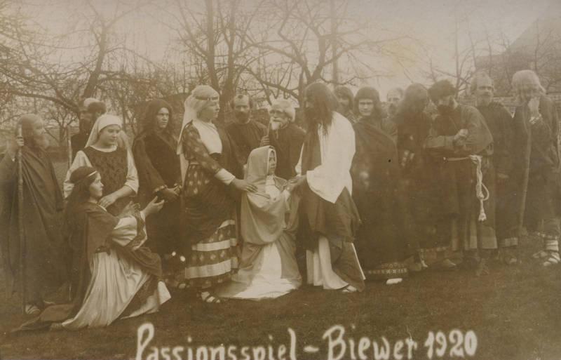 biewer, kirche, Passionsspiel, Religion, Trier