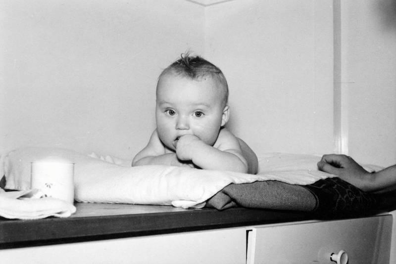 baby, bett, säugling, schublade, Wickeltisch