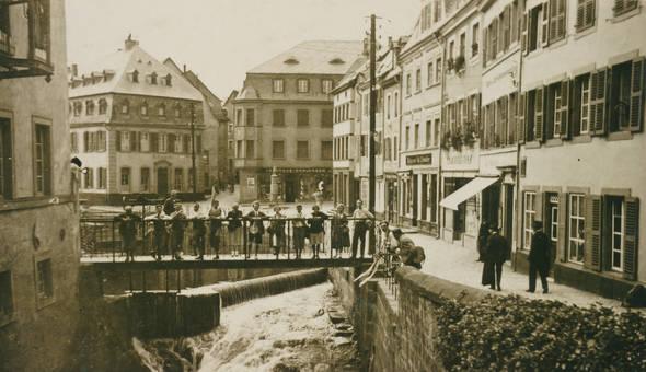 Besuch in Saarburg