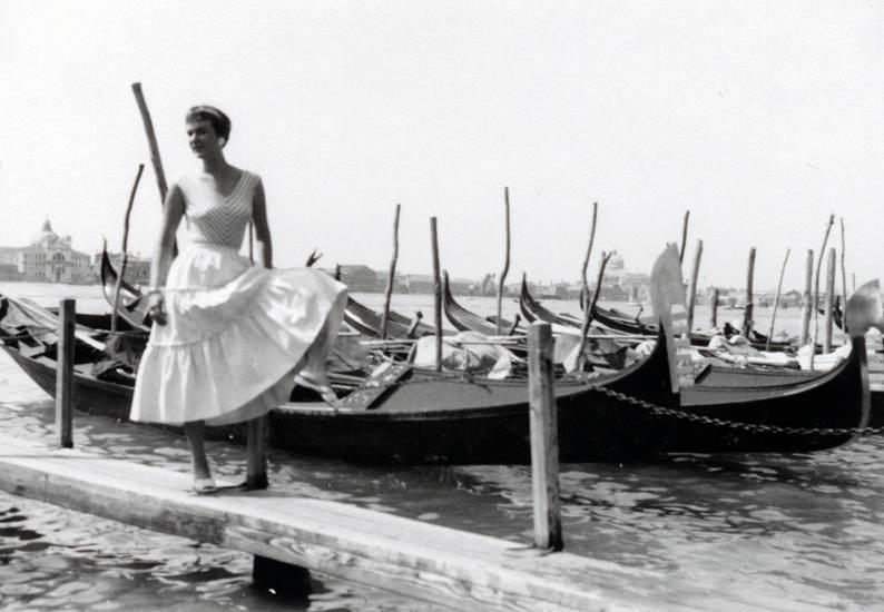 Gondel, kleidung, mode, rock, Venedig