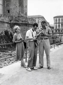 Mit Kameras in Neapel
