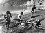 Am Ufer in Maiori