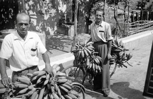Bananenfahrräder