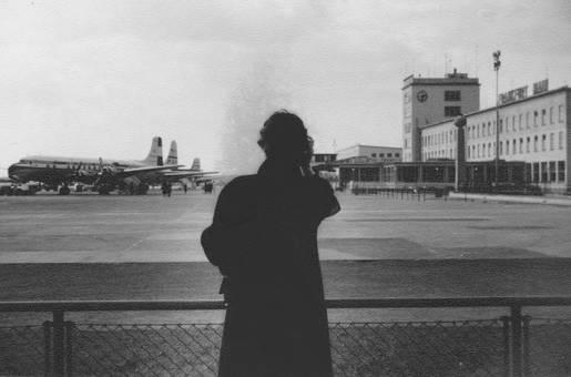 Ausblick am Flugplatz