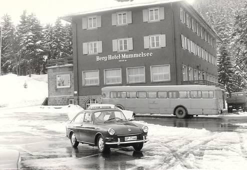Mummelsee und VW 1600 TL