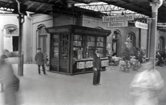 Am Bahnhof Niederlahnstein