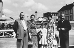 Schickes Familienfoto