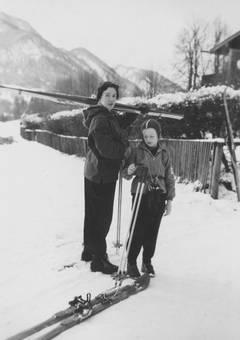 Skifahrbereit