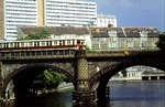Ost-Berlin S-Bahn Brücke