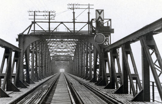 Elbebrücke bei Barby