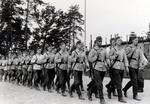 Marsch im Reichsarbeitsdienst