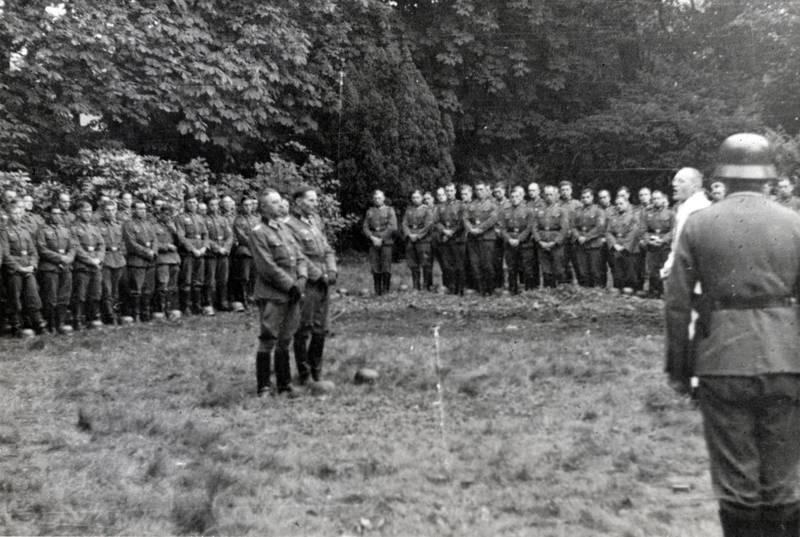 formation, soldat, Uniform, versammlung, zweiter weltkrieg