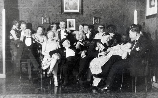 Gruppenfoto im Tanzkurs