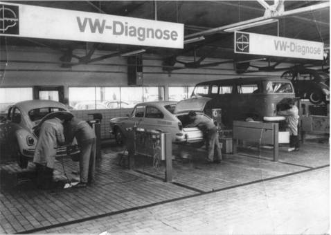 Volkswagen-Diagnose