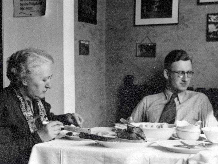 Hemd, Krawatte, Mittagessen, rad, Reichsarbeitsdienst, tisch