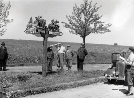 Am Straßenschild