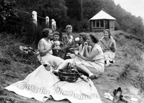 Kaffee beim Picknick