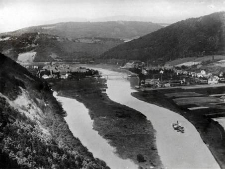 Flussabzweigung