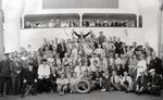 Gruppenfoto an Bord