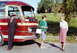 Beim Bus