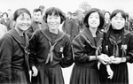 Japanische Schulmädchen
