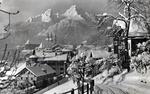 Berchtesgaden mit NS-Banner