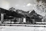 Vor dem Olympia-Skistadion