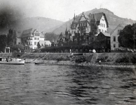 Ausblick auf das Ufer.