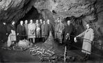 In einer Rübelandhöhle