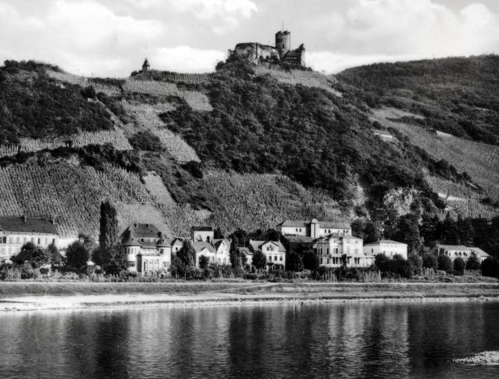 Bernkastel, Burg Landshut, Burgruine, Mosel, Ruine, Ufer