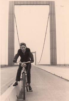 Auf der Rodenkirchener Brücke