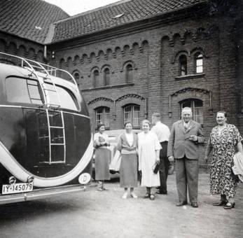 Beim Reisebus