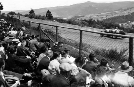 Zuschauer beim Rennen