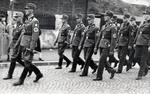 Marschierende RAD-Männer