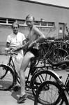 Mit Fahrrad