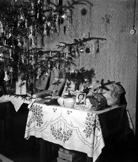 Foto, geschenk, Kugel, Lametta, Weihnachten, Weihnachtsbaum