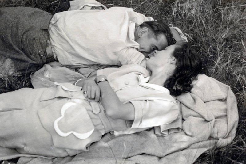 Bluse, Decke, Hemd, liegen, picknick, Sommer