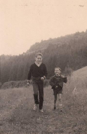 hunsrück, Kindheit, rennen, spaziergang, Weide