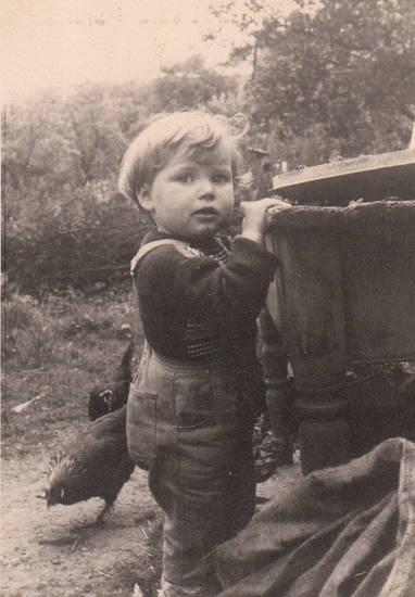 Huhn, hunsrück, Kindheit