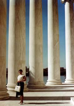 Die Säulen vom Memorial