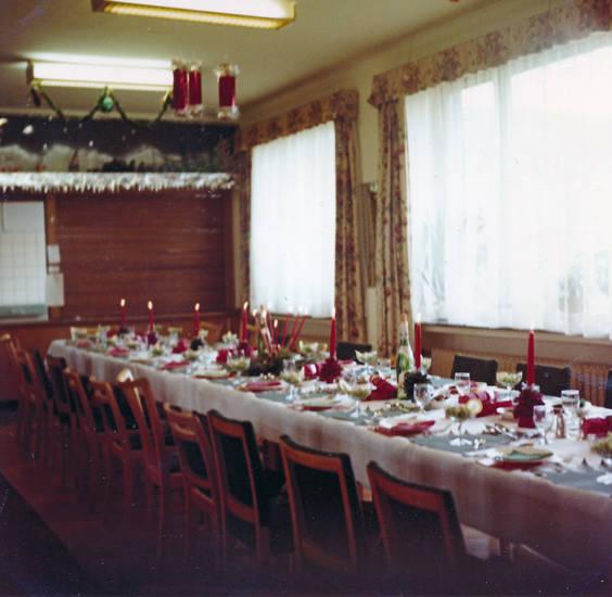 gütersloh, NAAFI, tisch, Weihnachten