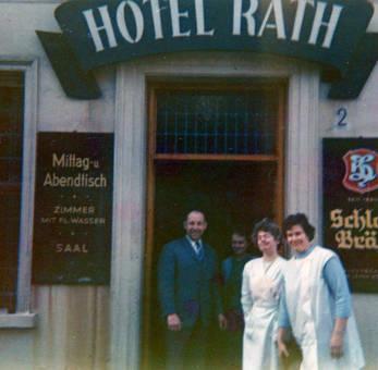 Inhaber des Hotel Rath