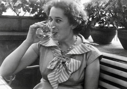 Einen Schluck trinken