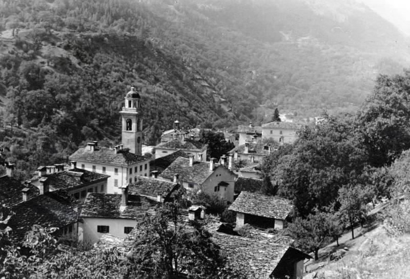 Castasegna, gebäude, haus, kirche, Kirchturm, turm
