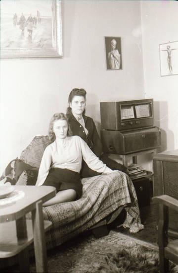 einrichtung, Radio, sofa, wohnzimmer