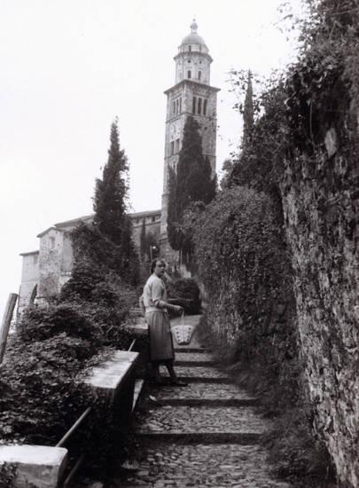 kirche, Kirchturm, korb, Pfarrkirche, Santa Maria del Sasso, turm